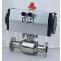 进口卫生级气动球阀(进口316L气动球阀)型号,品牌