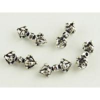 DIY999纯银吊坠配件加工生产批发 珠宝首饰来图来样加工定制工厂