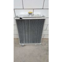 供应农机水箱收割机配件久保田588/688收割机大孔低温水箱散热器