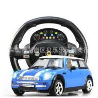 环奇668正版高仿真方向盘重力感应遥控车儿童玩具 充电越野车