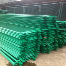 供应围网围栏、公路/铁路隔离栅、镀锌丝双边丝框架护栏网厂家定做