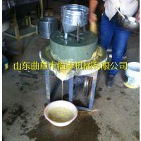 临沂花生酱电动石磨机 优质石材石磨机规格 恒丰芝麻酱石磨机