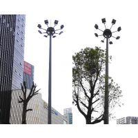 扬州弘旭专业生产15米篮球场灯 高杆灯升降式圆盘高杆灯