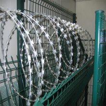 旺来q235刺绳围网 刺绳铁丝网 填充式隔离防护网