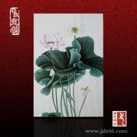 瓷板画加工定做 手绘青花瓷板画