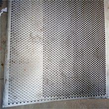 旺来镀锌圆孔网价格 圆形冲孔网片规格 冲孔网板 圆孔