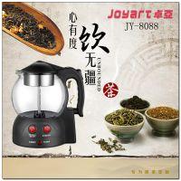 卓亚JY-8808煮茶器玻璃保温电水壶电茶壶煮蒸汽泡玻璃茶养生壶