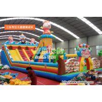 安徽蚌埠好的儿童游乐充气大滑梯图片厂家游乐设备