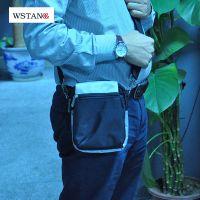 W S Tang厂家批发 时尚大方运动腰包 休闲户外斜挎小包 男士单肩包 户外运动包
