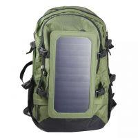 供应太阳能背包,户外登山包,休闲包,手机充电背包cx厂家直销