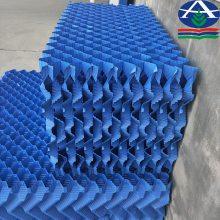 冷却塔填料有哪些种类,方塔常用的波型S波点波斜折波斜交错填料PVC填料13785867526