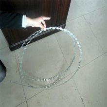 旺来刀片刺绳立柱 刀片刺笼 热镀锌刺绳