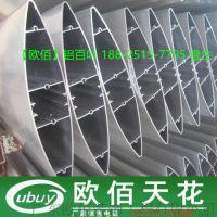 外墙椭圆形装饰遮阳铝百叶 广东铝百叶厂家规格任意定做