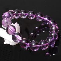 爆款促销爱光堂天然***高级AAAA南非紫水晶手链新款限时疯抢