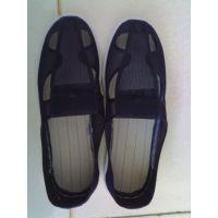 PU/PVC 防静电鞋,防静电帆布四孔鞋 张家港洁净鞋