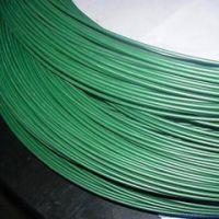 供应鸿宇筛网 包塑丝 圆形350-550镀锌丝包塑铁丝
