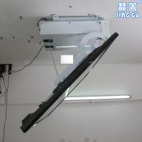 晶固电视翻转器 稳定电动遥控折叠天花支架32-60寸