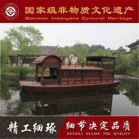 浙江影视道具船在哪买的 大型仿古游船 浙江横店影视拍摄道具船 木船厂