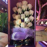 创意手工精油香皂玫瑰花礼盒装七夕节送闺蜜女友老婆生日礼物