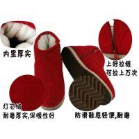 手工棉鞋慈溪传统棉鞋保暖鞋2014年新款