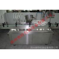河南华夏奥特AT-GX-4Y高精度液体口服液灌装机