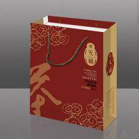 茶叶手提袋 配专版铁盒 订单批量生产