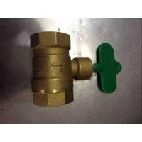 Q11F-10/16T 内螺纹防盗加密带钥匙丝扣黄铜球阀全通径