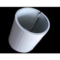 加油站方形包柱铝板,氟碳喷涂铝板幕墙,R60铝圆角采购