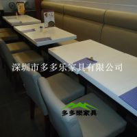 畅销 食堂餐桌椅 快餐厅餐桌 糖水店餐桌 学校餐桌椅