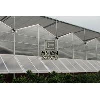 温室大棚 厂房和体育馆专用奥农苑双层透明pc耐力板阳光板