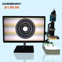 厂家直供 600倍 可拍照存储 专业通孔毛刺检测  视频显微镜