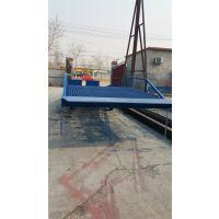 河南8吨移动式登车桥 DCQ液压式手动升降装卸货平台
