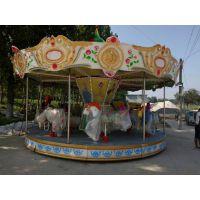 遥控彩灯豪华转马 游乐场景区游乐设备豪华转马厂家 儿童乐园娱乐场旋转木马