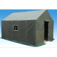 4*6室外施工,住人,帆布帐篷(齐鲁帐篷厂家生产)结实耐用质量保证