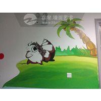 怀柔幼儿园墙体彩绘