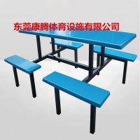 湖南机关单位食堂餐桌椅,食堂餐桌椅,东莞康腾环保餐桌椅