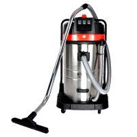 芜湖工业吸尘器 大功率立筒式吸尘水器 工厂仓库车间干湿吹粉尘吸尘器 1800W50L3000W