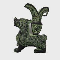 供应工艺品 洛阳广发青铜器 创意摆件兽杯 吉祥 转运 风水家居装饰品古代酒杯