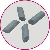 供应棕刚玉斜圆柱磨料(倒角去毛刺飞边),抛磨块,大小可定制