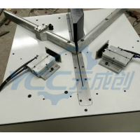 元成创单头切角机 木条相框切角机