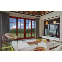 合德豪门窗、铝合金折叠门、铝合金推拉门、阳光房