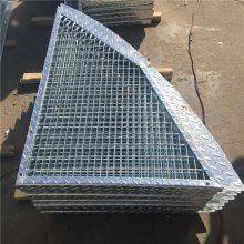 旺来Q235钢格栅板吊顶 工业厂房、机场吊顶