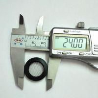 YF水表包邊濾網墊片DN20過濾網片橡膠包邊304濾網40目