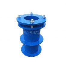 优质建筑工地埋套管专用河北龙图精品S312型柔性防水套管DN100