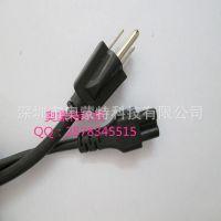 美式电源线直销 UL标准电源线 美规插头认证