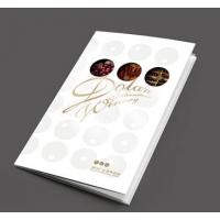 精简画册印刷,工艺:封面UV、烫金