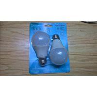 供应2835LED球泡灯吸塑盒 球泡灯折边吸塑包装盒