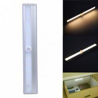 外贸畅销人体红外感应 LED小夜灯 条形感应灯衣柜书柜橱柜灯L0406
