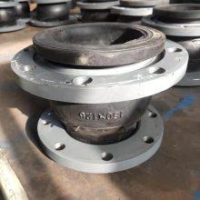 厂家直销耐酸碱橡胶弯头90°管道膨胀节规格型号【润宏牌】