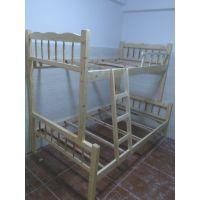 供应供应欧胜诺双层木床 武汉上下铺床 员工宿舍床厂家